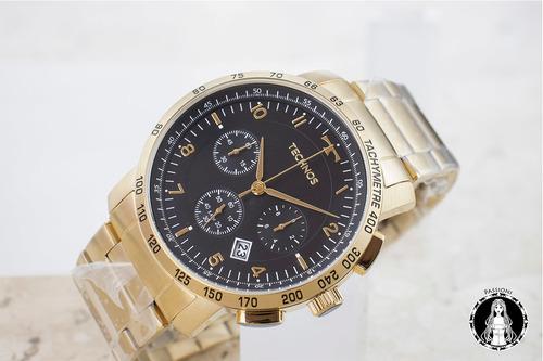 relógio technos skymaster - 6s20aa/4p c/ nf e garantia o
