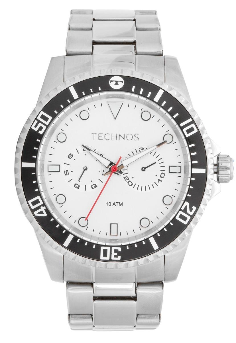 relógio technos skymaster análogo calendário 6p25bm 1k. Carregando zoom. 9c3c38a672