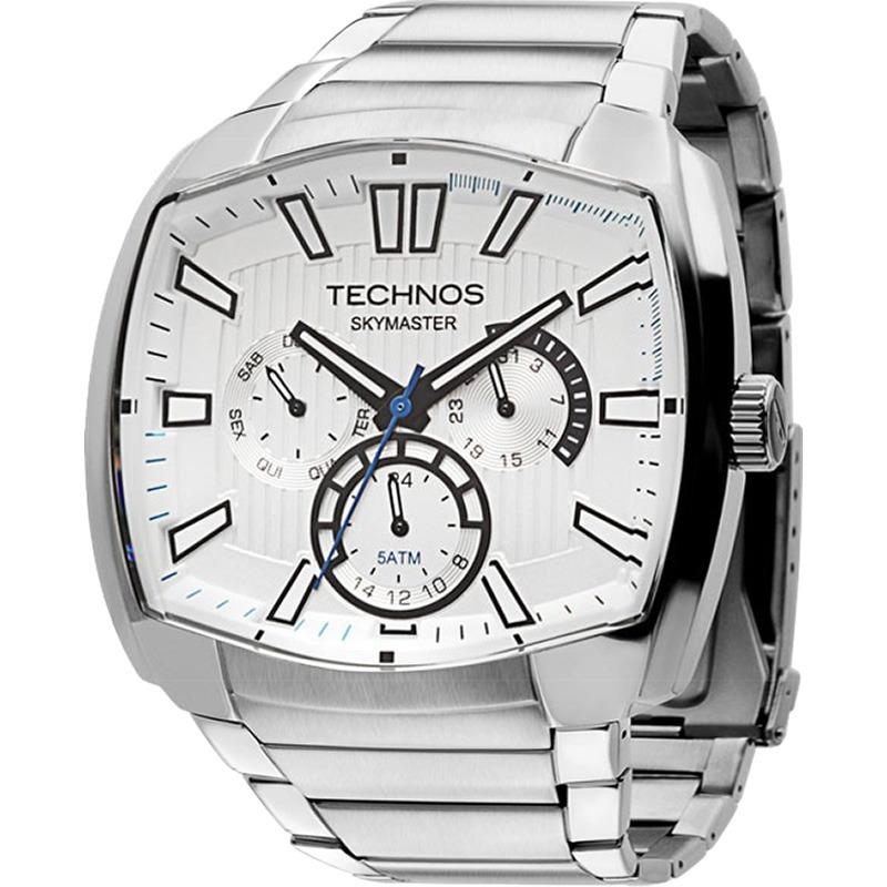 ee548619556d2 relógio technos skymaster multifunção prata 6p29agx 1c. Carregando zoom.