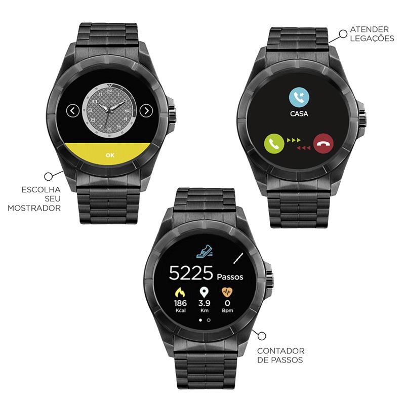 8bdceef459468 relógio technos smartwatch connect srac 4p. Carregando zoom.