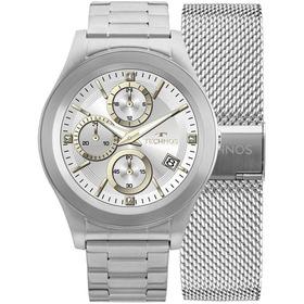 Relógio Technos Smartwatch Touch Screen Srad/1p Prateado