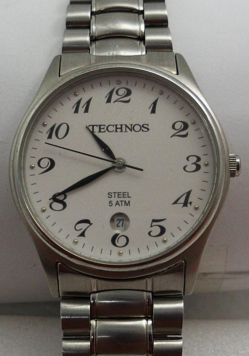 876eb85ab3c relógio technos steel 5 atm. Carregando zoom.