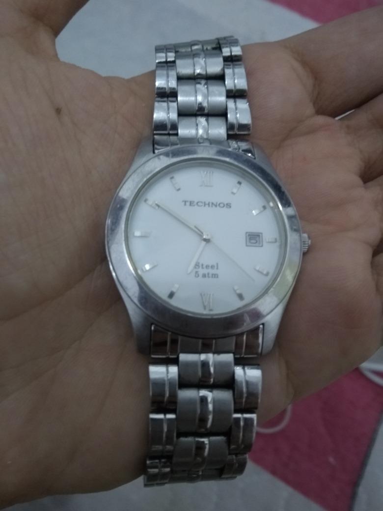 18e6b0b53fd relógio technos steel 5 atm tec 426. Carregando zoom.