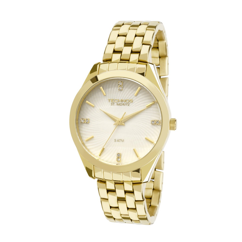 2a1e598ec3364 relógio technos st.moritz 2036lov k4b dourado. Carregando zoom.