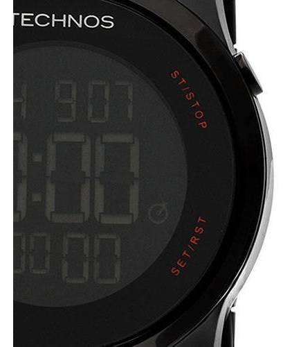 relógio technos touch screen preto unissex mw5476/1p