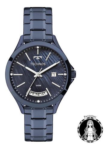 relógio technos trend - 2350ag/4a c/ nf e garantia u