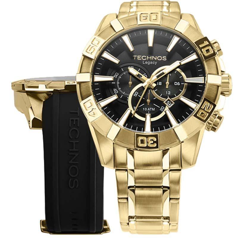 0602255f1e126 relógio technos troca pulseira os2aaj 4p loja oficial. Carregando zoom.