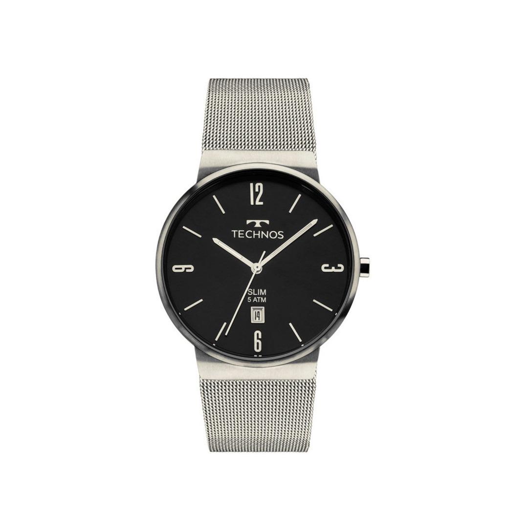 982e100b90038 Relógio Technos Unissex Classic Slim - Gm10y1 1p - R  591