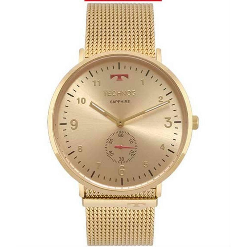 Relógio Technos Unissex Classic Slim Analógico 1l45ax 4a - R  543,50 ... 3092261f88