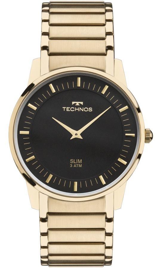 37b7cc81241fb Relógio Technos Unissex Classic Slim Analógico Gl20aq 4p - R  579