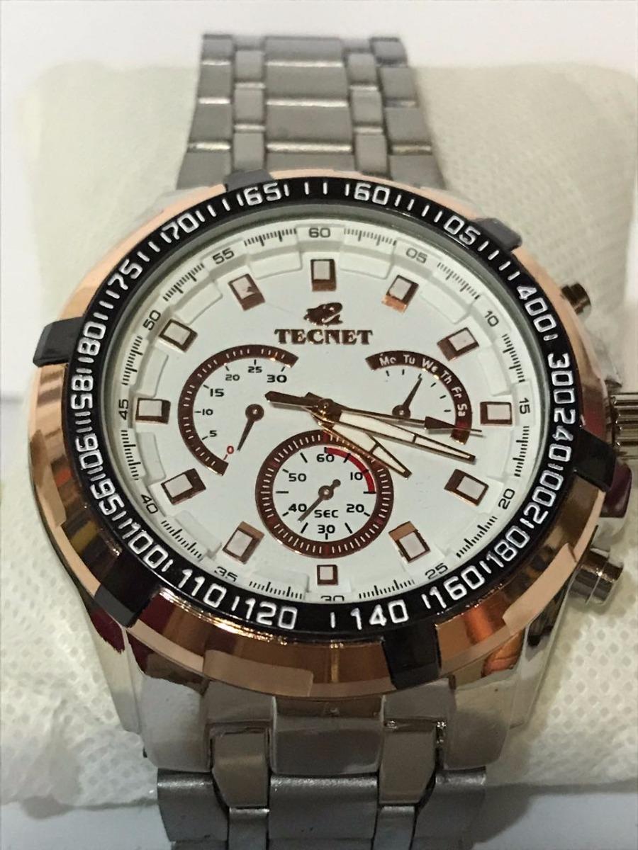 fdcd6c51d0e Relógio Tecnet Masculino 568ch Resistente A Água - R  159