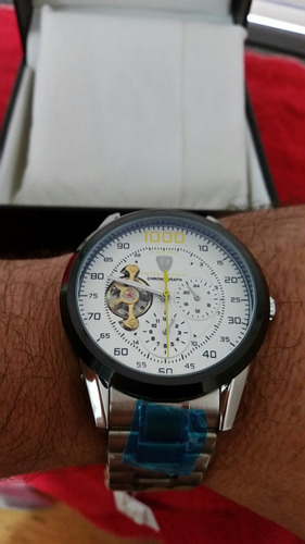 relógio tevise 1000 automático