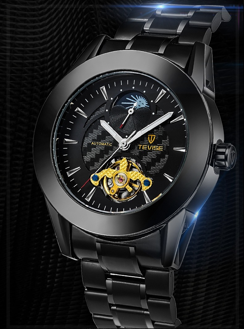 4ae708b6bdb Relógio Tevise Automatico + Brinde Estados C  Frete Pago. - R  229 ...