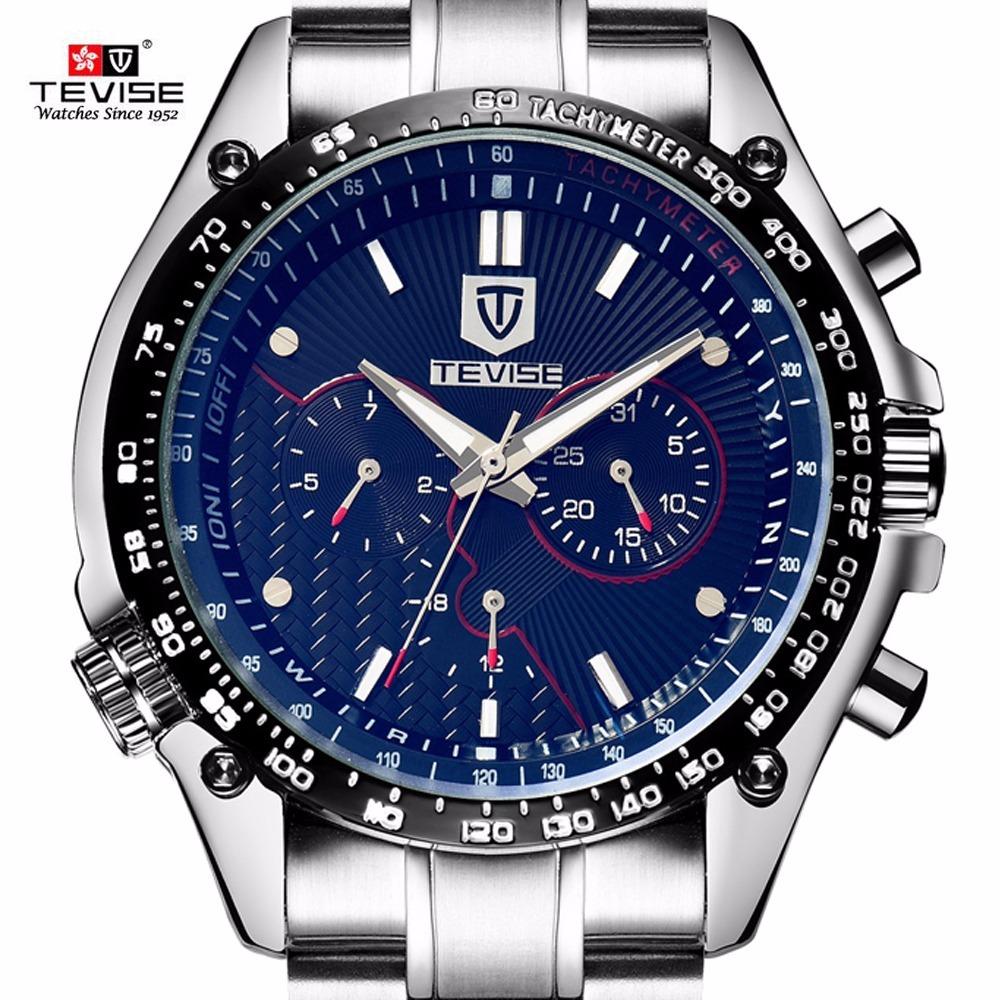 31efdc6d5cd relógio tevise automático fashion preço promocional. Carregando zoom.