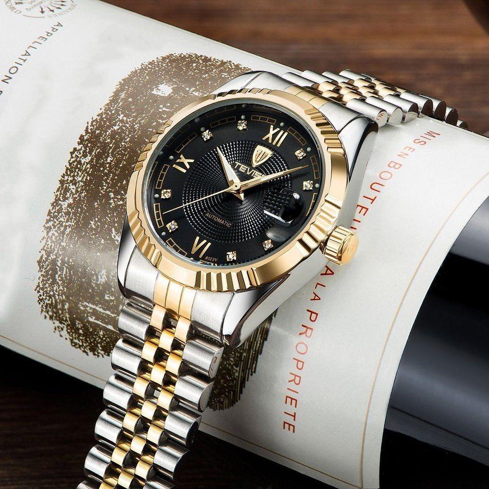 e380fcd3765  relógio tevise luxo