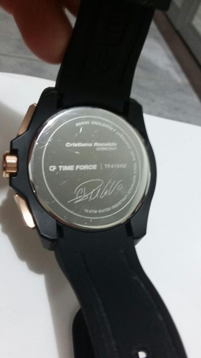 3e2ee0836fb relógio time force christiano ronaldo. Carregando zoom.