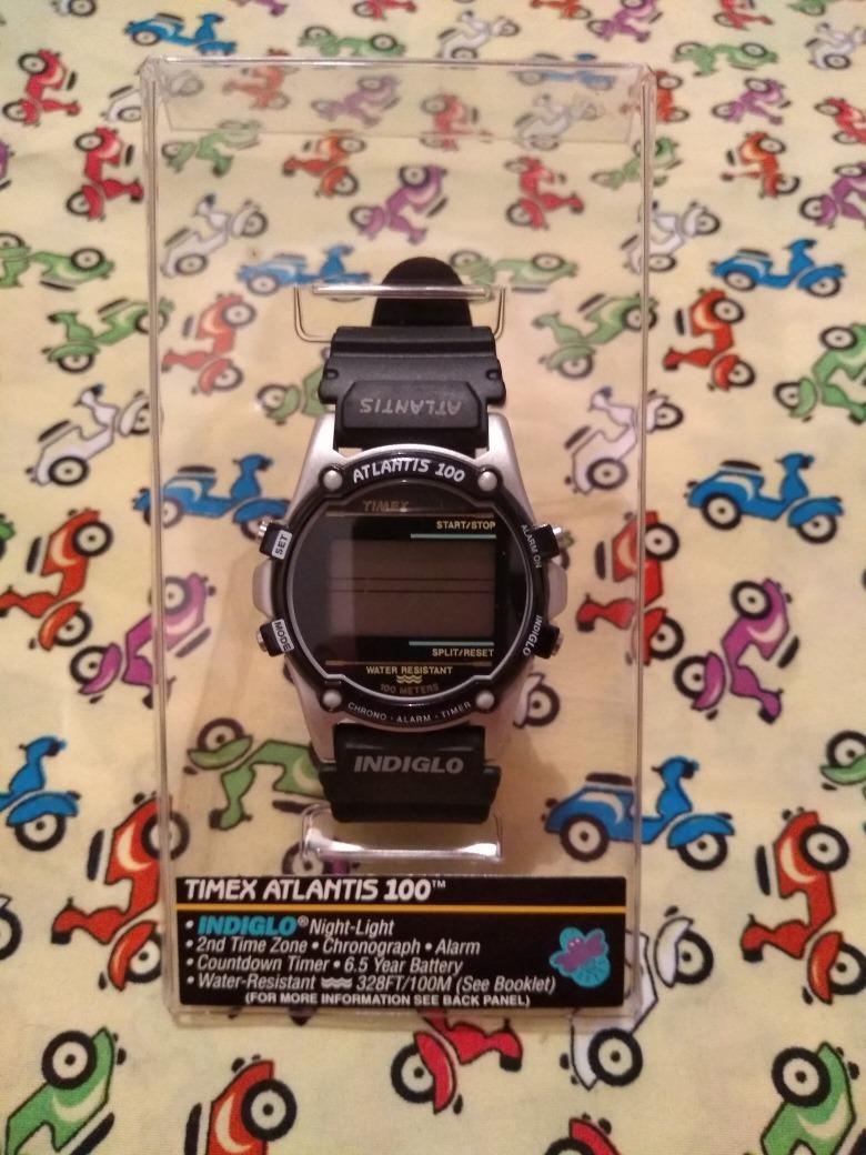 706c0a98ba8 relógio timex atlantis 100 antigo sem uso. Carregando zoom.