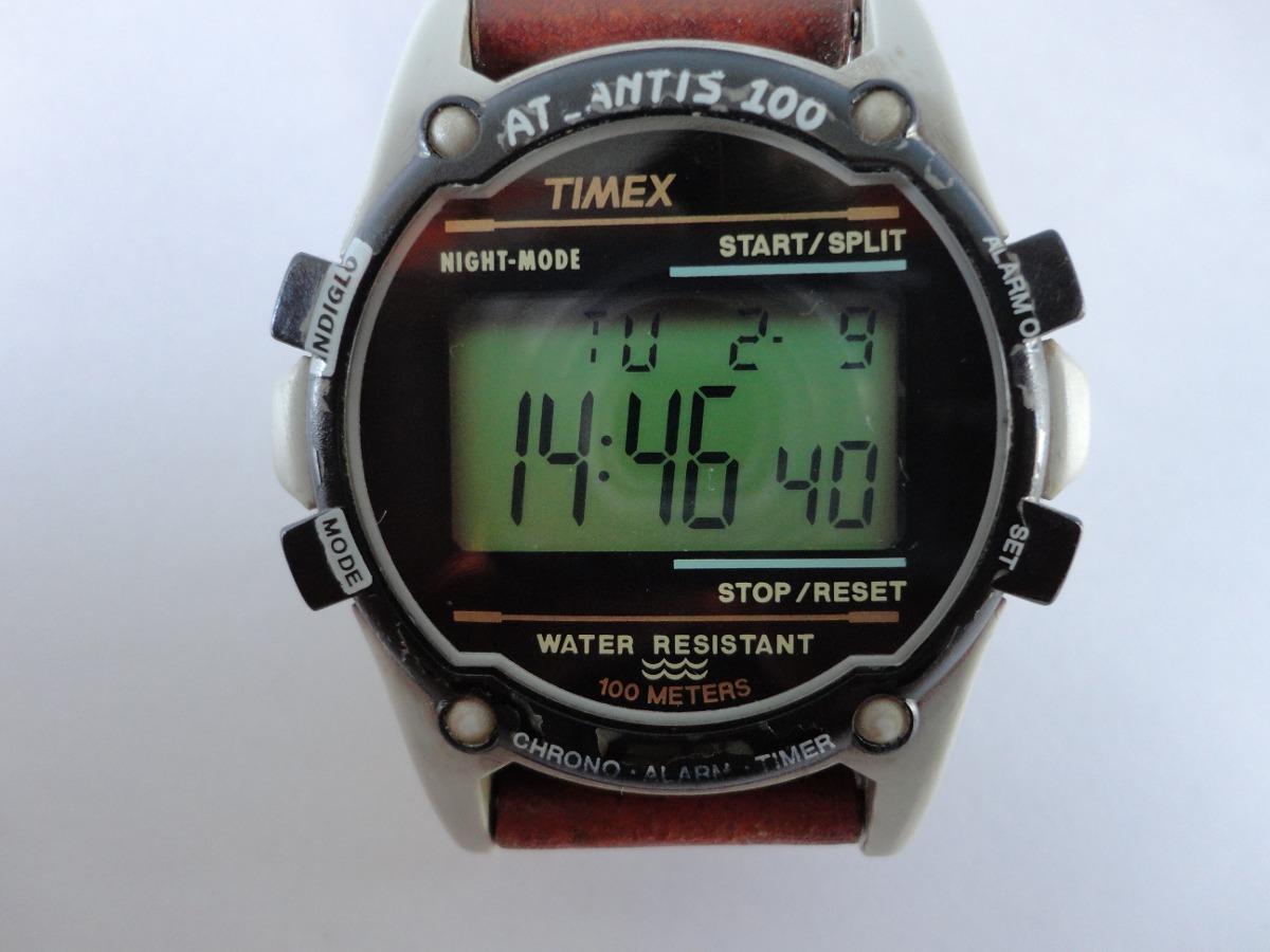 f7dc0511923 relogio timex atlantis 100 original. Carregando zoom.