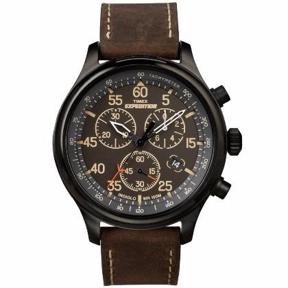 relogio timex expedition cronografo indiglo t49905 original