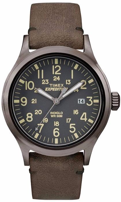 0d81c0ce5d7 Relógio Timex Expedition Pulseira De Couro - R  404