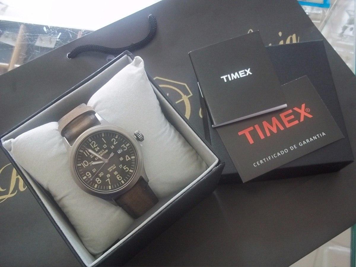 24df07546dd relógio timex expedition pulseira de couro. Carregando zoom.