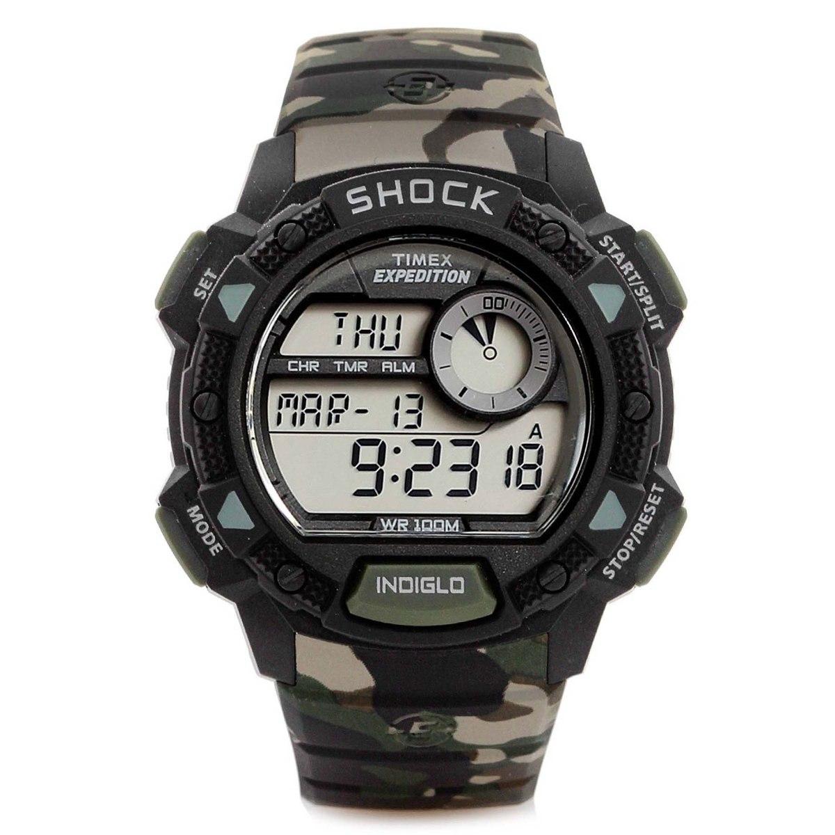 8f1e5309290db Relógio timex expedition shock digital masculino carregando zoom jpg  1200x1200 Relogio timex digital
