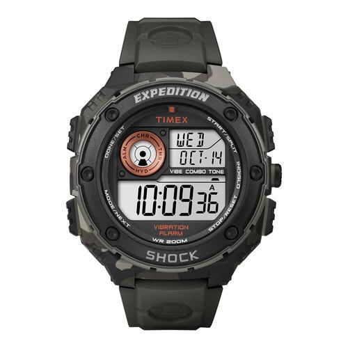 relógio timex - expedition shock - t49981ww/tn