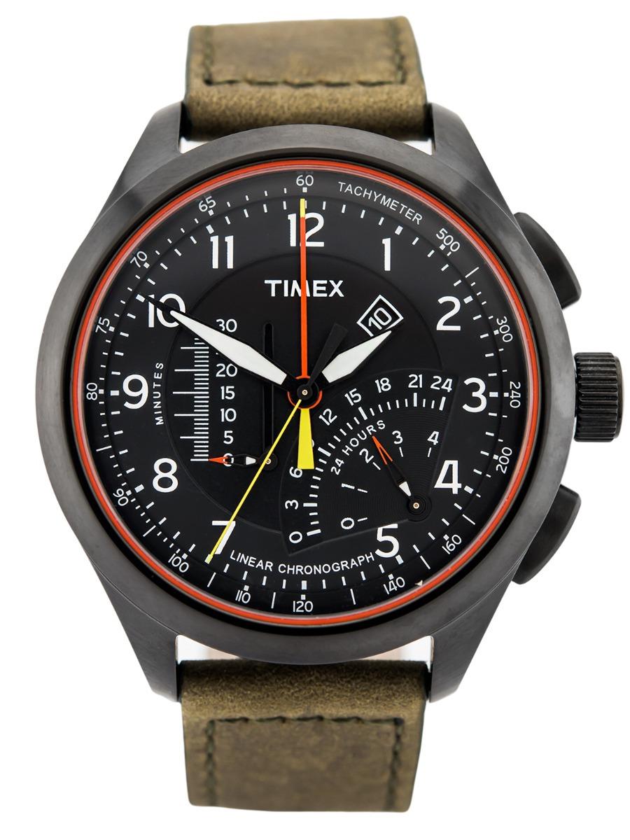 544ab185981 relógio timex intelligent quartz linear cronógrafo masculino. Carregando  zoom.