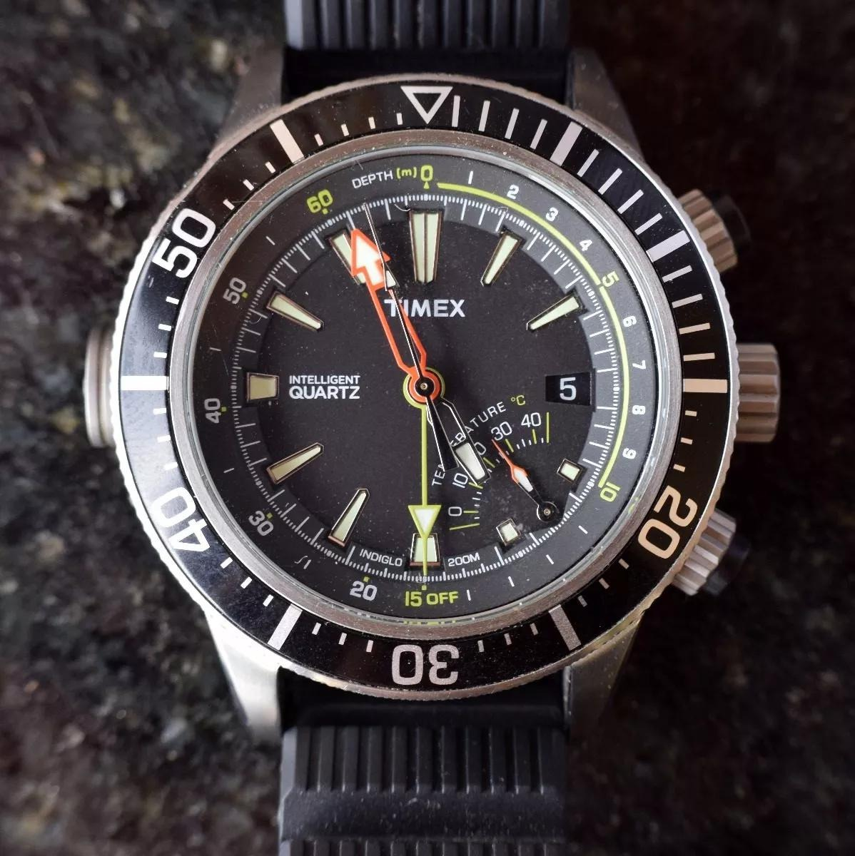 3452e992404 relógio timex intelligent quartz - t2n810 - profundímetro. Carregando zoom.