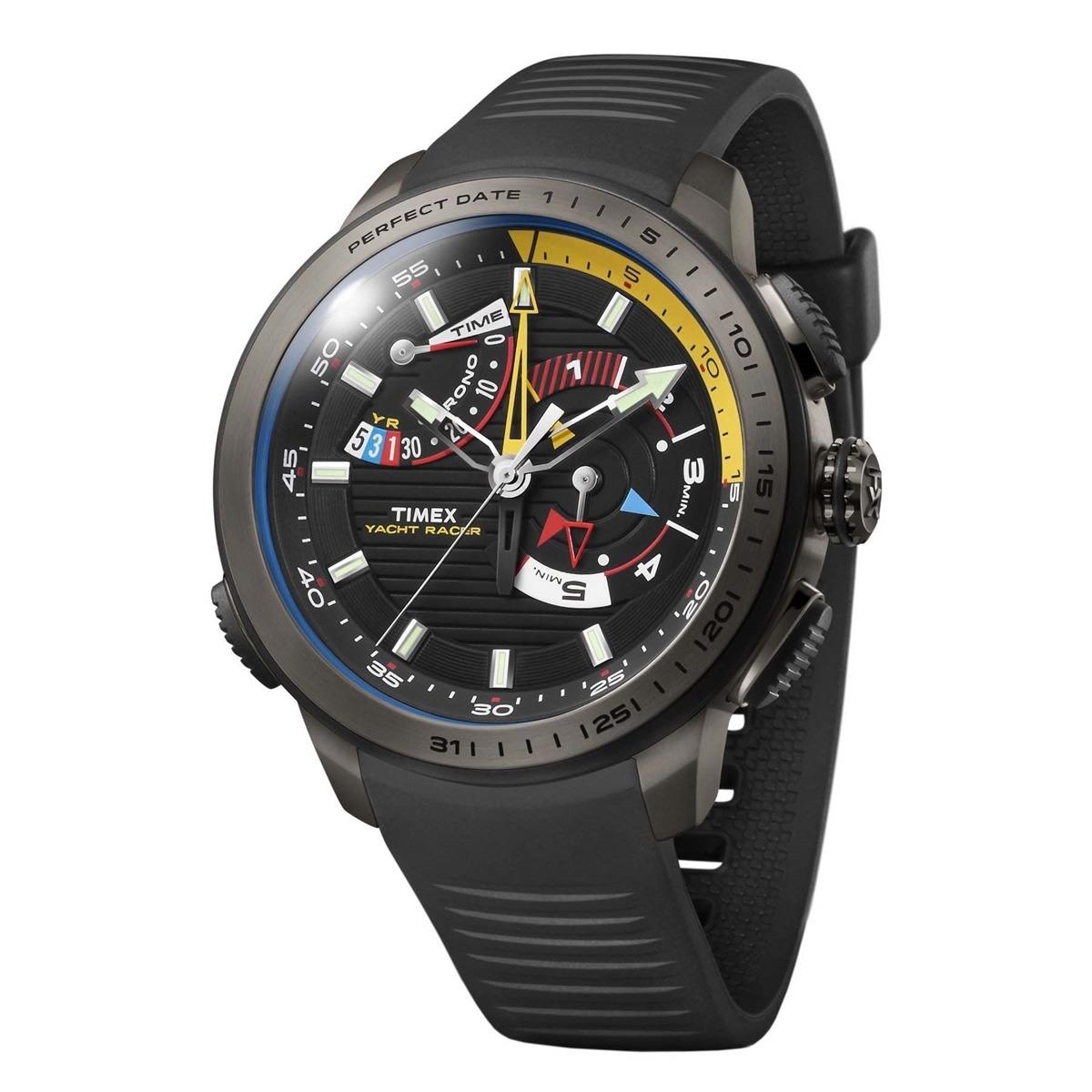c4068607afa relógio timex intelligent quartz tw2p44300w tn yacht racer. Carregando zoom.