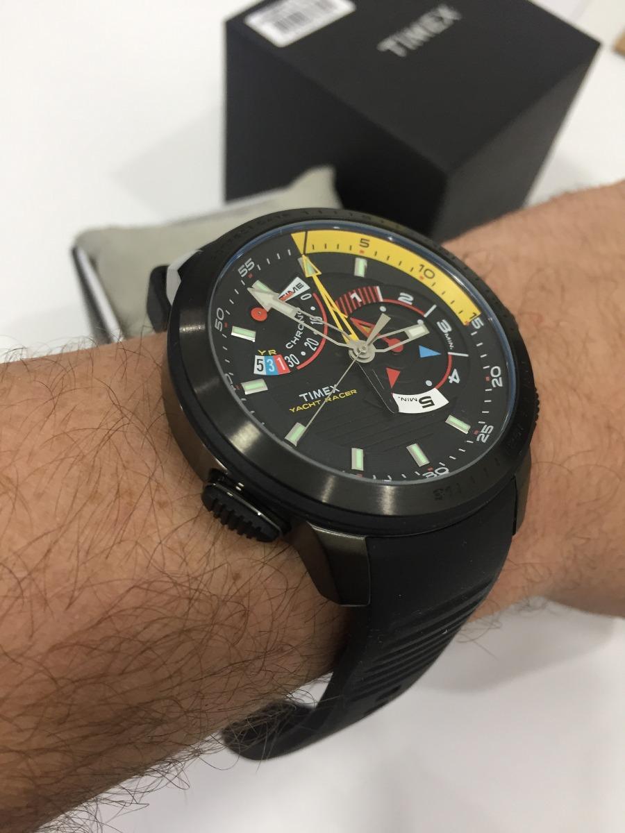 4e4adf45f53 relógio timex intelligent quartz tw2p44300w tn yacht racer. Carregando zoom.