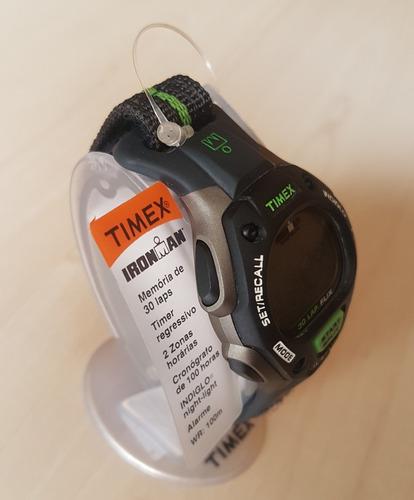 relógio timex - iron man triathlon original - frete grátis