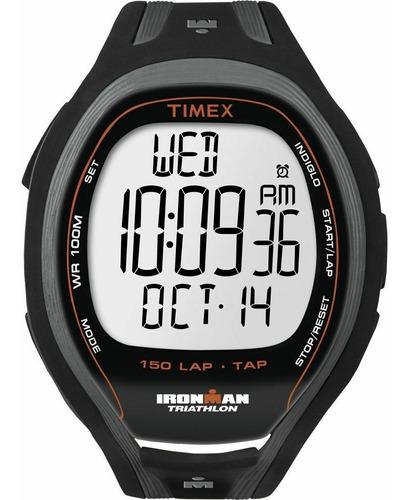 relógio timex ironman 150 lap sleek t5k253