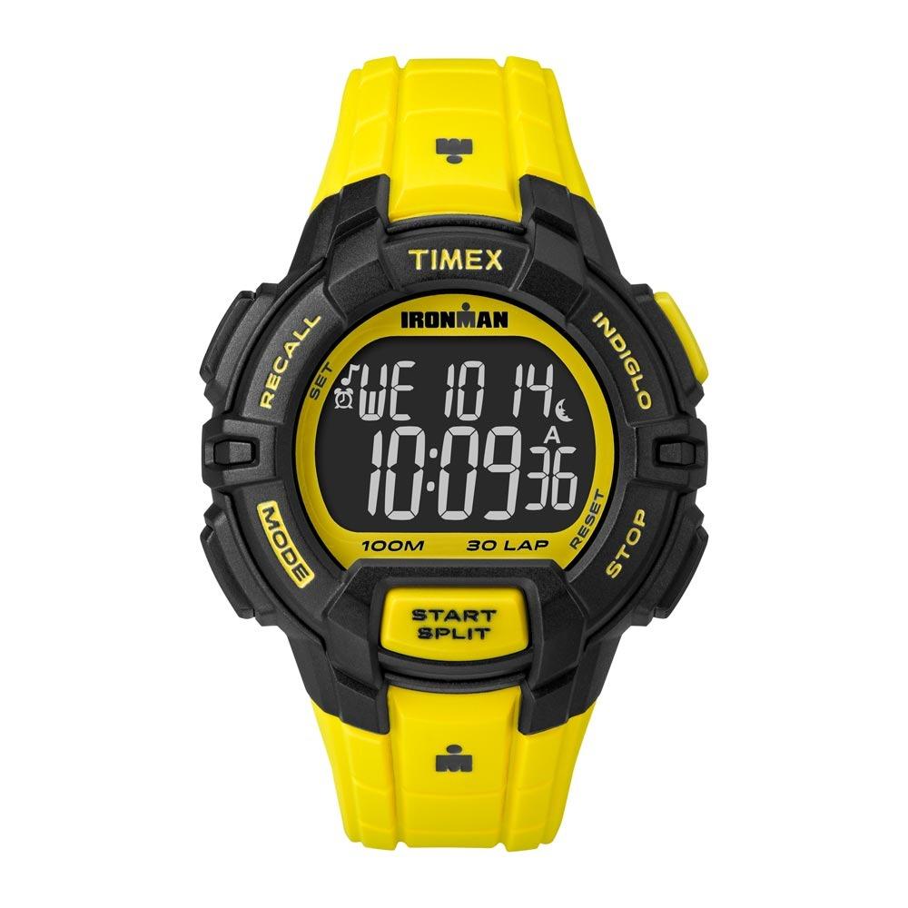 0f8010fc80995 Relógio Timex Ironman 30 Lap Tw5m02600ww n - Amarelo - R  269,90 em ...