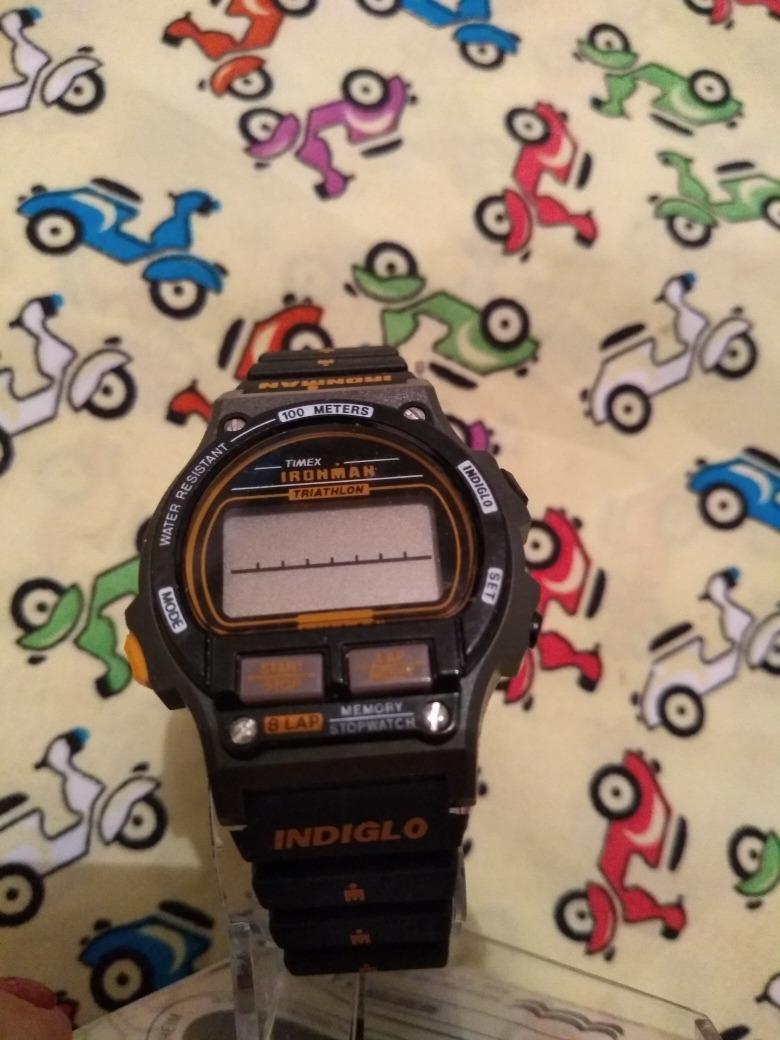 21e22b7a8c9 relógio timex ironman triathlon antigo sem uso. Carregando zoom.