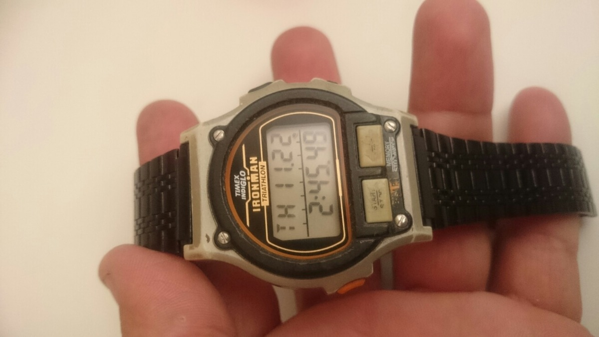 7271e0da7a2 relogio timex ironman triathlon grande usado. Carregando zoom.