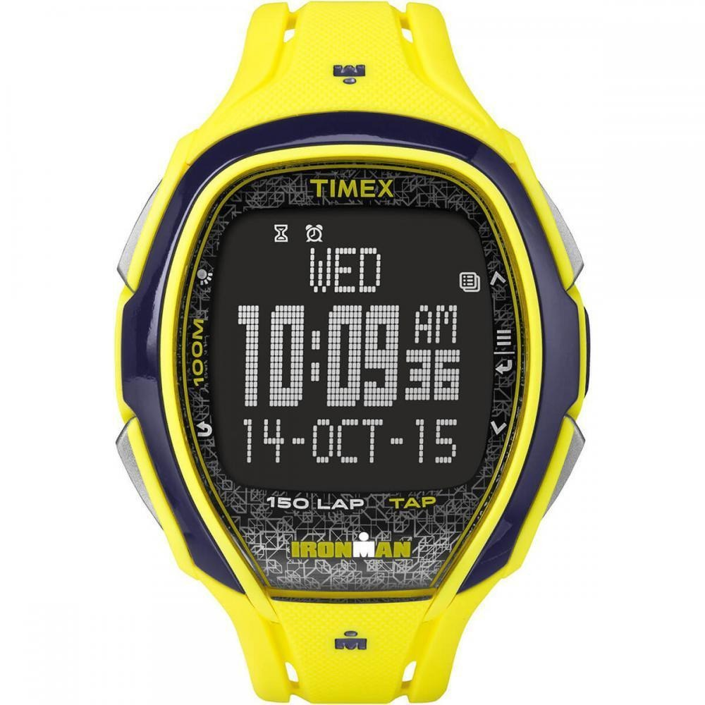7600340f6e36 relógio timex ironman tw5m08300 - amarelo. Carregando zoom.