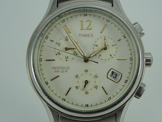 a3d96b72ca2 relógio timex masculino mod  indiglo - wr 50 - cronógrafo relógio timex  masculino