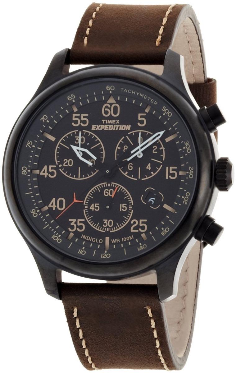 894dd52cdfb Relógio Timex Masculino Expedition Cronógrafo T49905 Marrom - R  399 ...