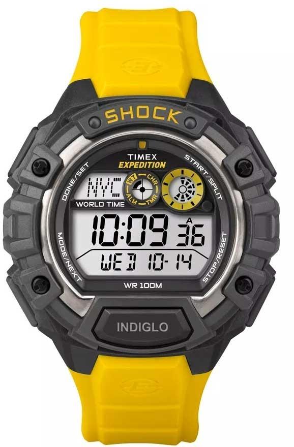 fc50f7b5e18 relógio timex masculino expedition shock t49974ww tn. Carregando zoom.