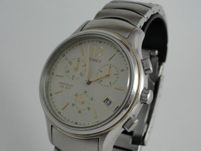 1d698326cb4 Relógio Timex Masculino Mod  Indiglo - Wr 50 - Cronógrafo - R  420 ...