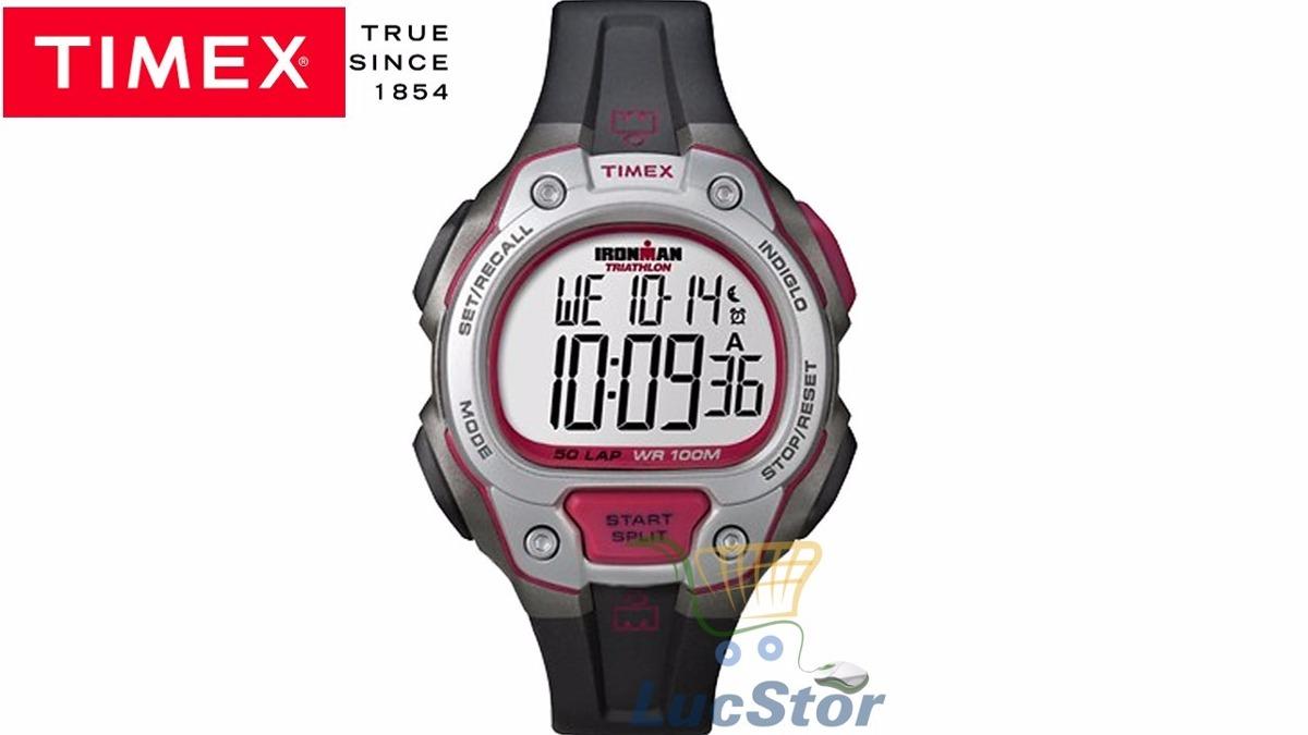 abfce529535e1 relógio timex t5k689wkl tn ironman 50 lap triathlon original. Carregando  zoom.