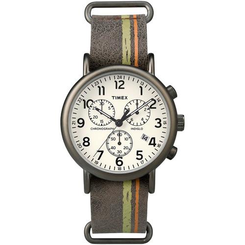 relógio timex weekender - tw2p78000ww/n