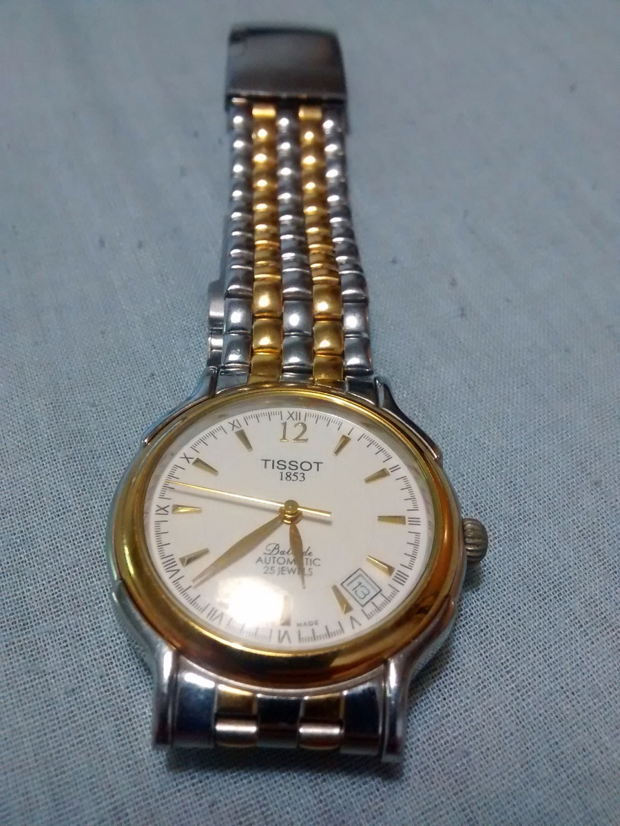 82b717da466 Relogio Tissot 1853 Ballade Automatic 25 Jewels - Original - R ...