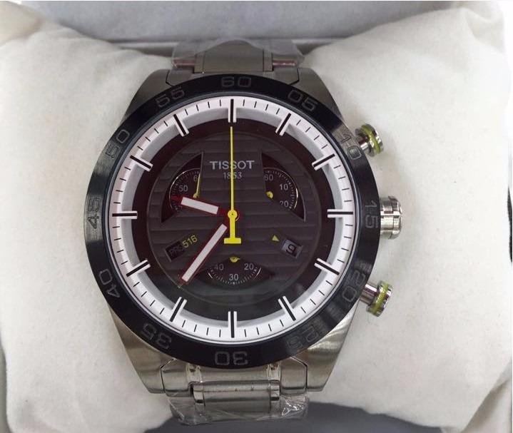 2c577dcc992 Relogio Tissot 1853 Prs 516 Inox - R  600