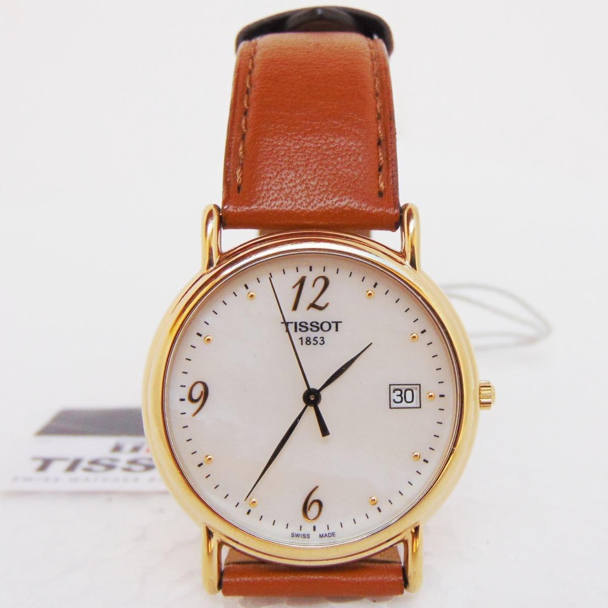 e574c25e1cb relógio tissot 1853 quartz analógico suíço ouro vidro safira. Carregando  zoom.