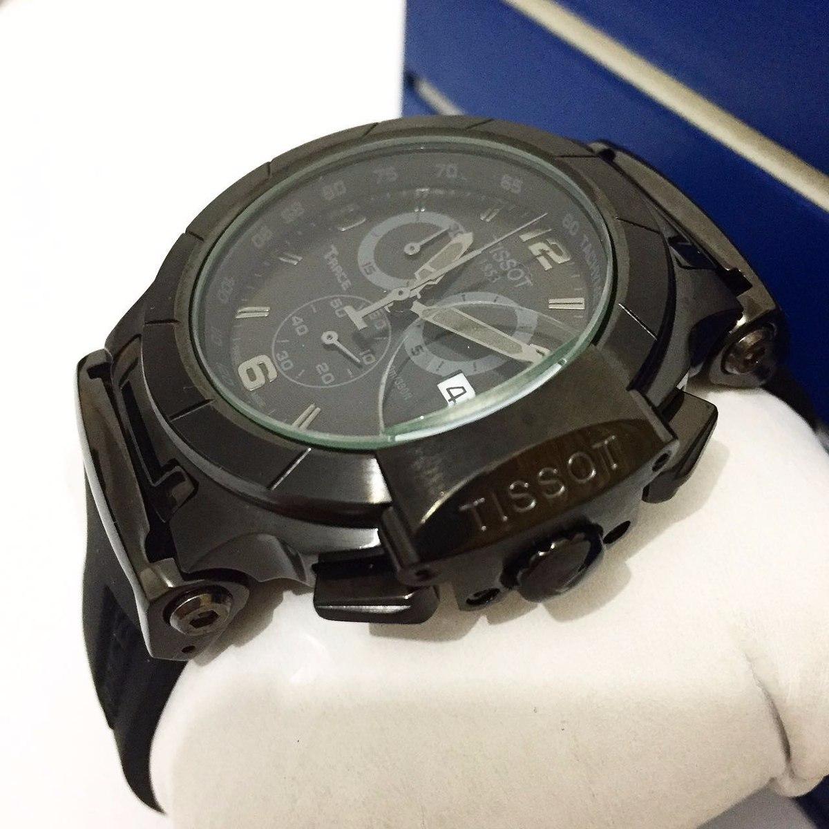 d479c2421e4 Relógio Tissot 1853 T-race Preto - R  500