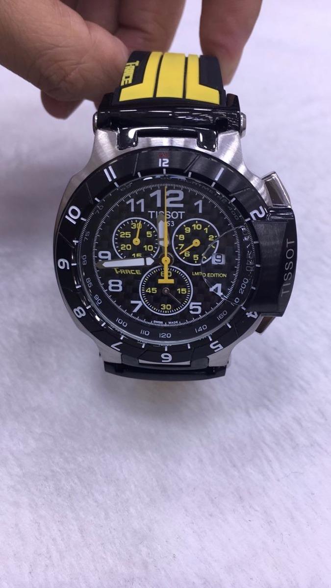 6c0ee35d39d relógio tissot 1853 t-race preto e amarelo. Carregando zoom.