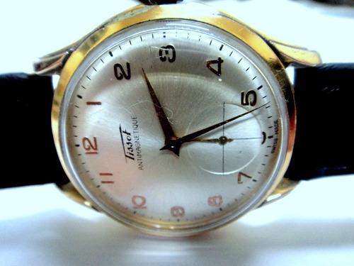 relógio tissot automático martelo de colecionador