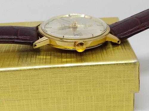 relógio tissot automático swiss, banho de ouro
